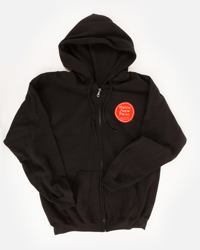 Load image into Gallery viewer, Hatch Logo Zip Hoodie