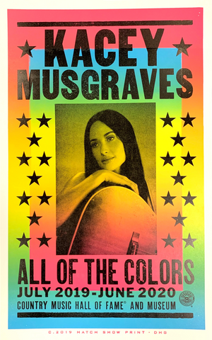 Kacey Musgraves Exhibit Poster