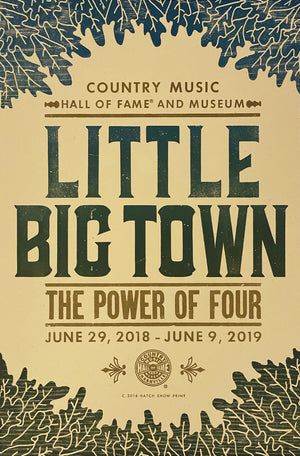 Load image into Gallery viewer, Little Big Town Exhibit Poster