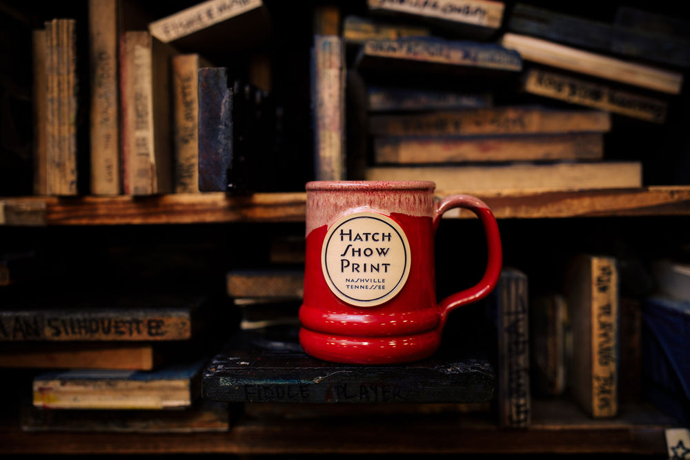 Hatch Logo Pottery Mug