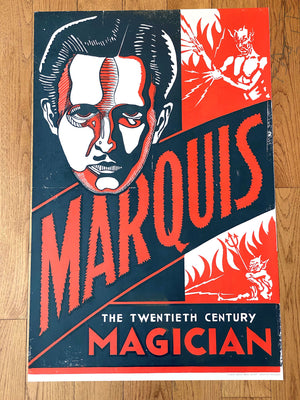 Marquis the Magician Print