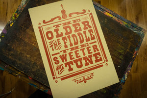 The Older the Fiddle Poster
