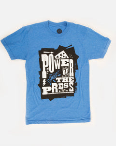 POWER OF THE PRESS TEE