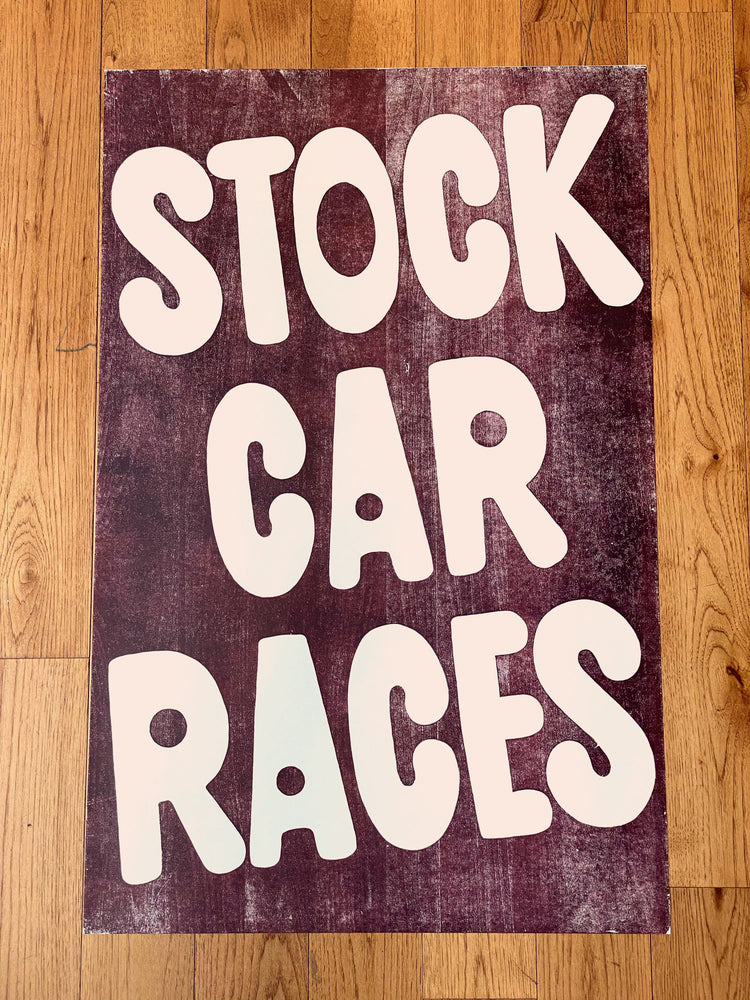 Load image into Gallery viewer, Stock Car Races Print