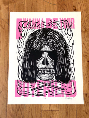 Load image into Gallery viewer, Carlos Hernandez - Ramones I Wanna Be Your Boyfriend Print
