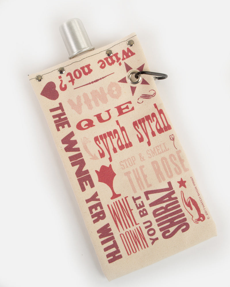 Canvas Wine Bottle