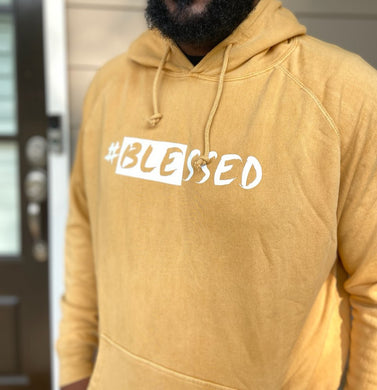 Blessed hoodie (Vintage Honey Mustard)