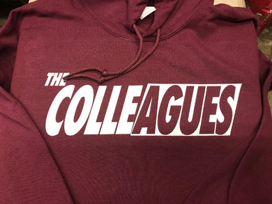 Maroon Colleagues Hoodie