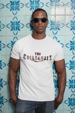Mens Colleagues Bucs shirt (white)