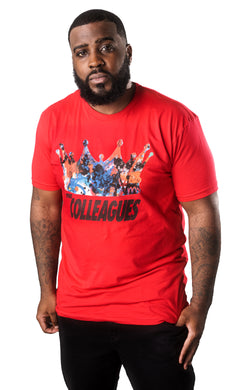 Men's Red Crown me shirt