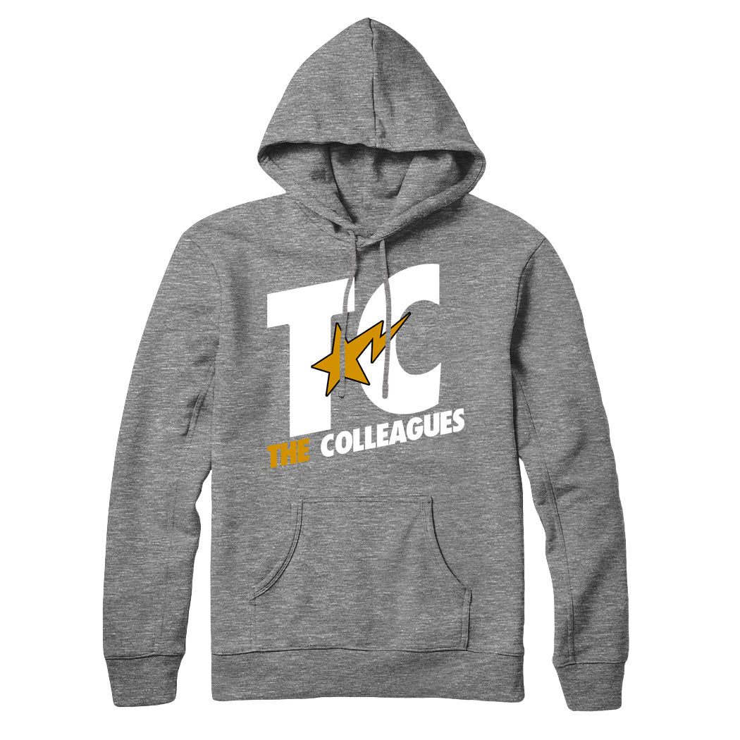 Heather Grey TC hoodie