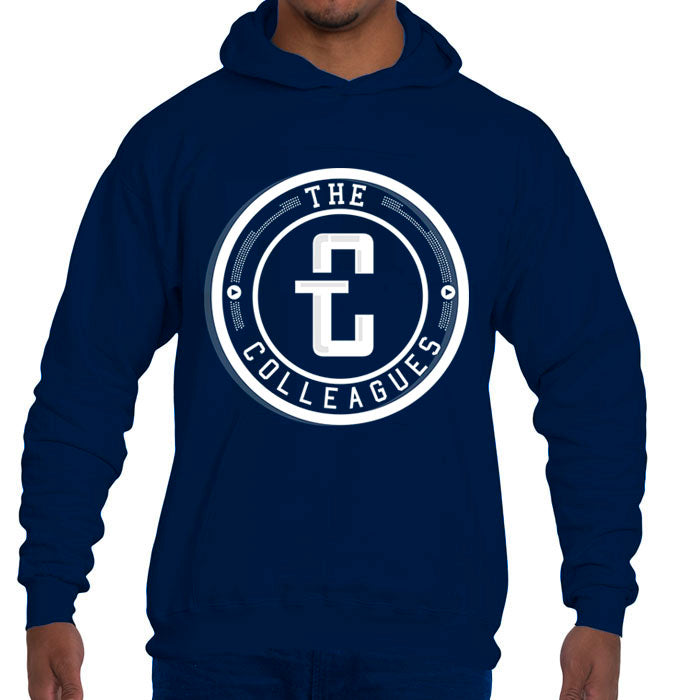 The Logo Hoodie (Navy blue)