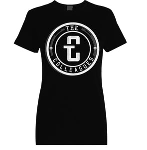 Women's Black Logo T-shirt