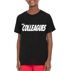 Youth Colleagues shirt (black)