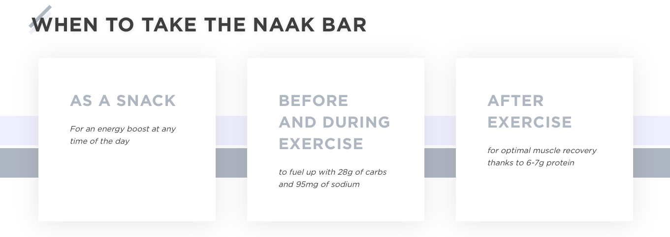 naak bar energy senditgear