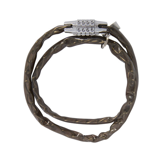 Combi Chain Combination Lock 36'' Smoke