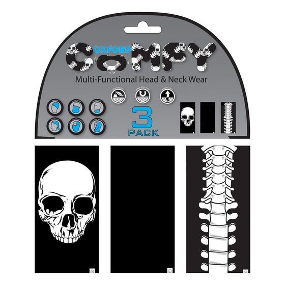 Oxford Comfy Skeleton 3-Pack