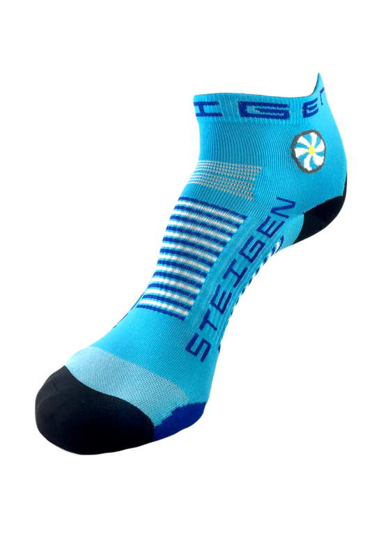 Steigen Performance Sock Breezy Blue ¼ Length - Ankle Socks