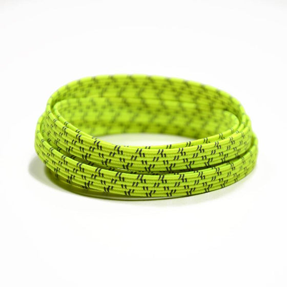 Xpand Lemon Lime Reflective Laces One Size Fits All, Laces, senditgear - Sendit Gear Canada