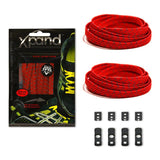Xpand Red Reflective Laces One Size Fits All, Laces, senditgear - Sendit Gear Canada