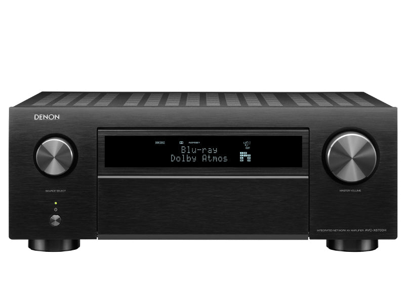 Denon's new X-Series AV receiver range adds 8K support, 4K/120fps and more