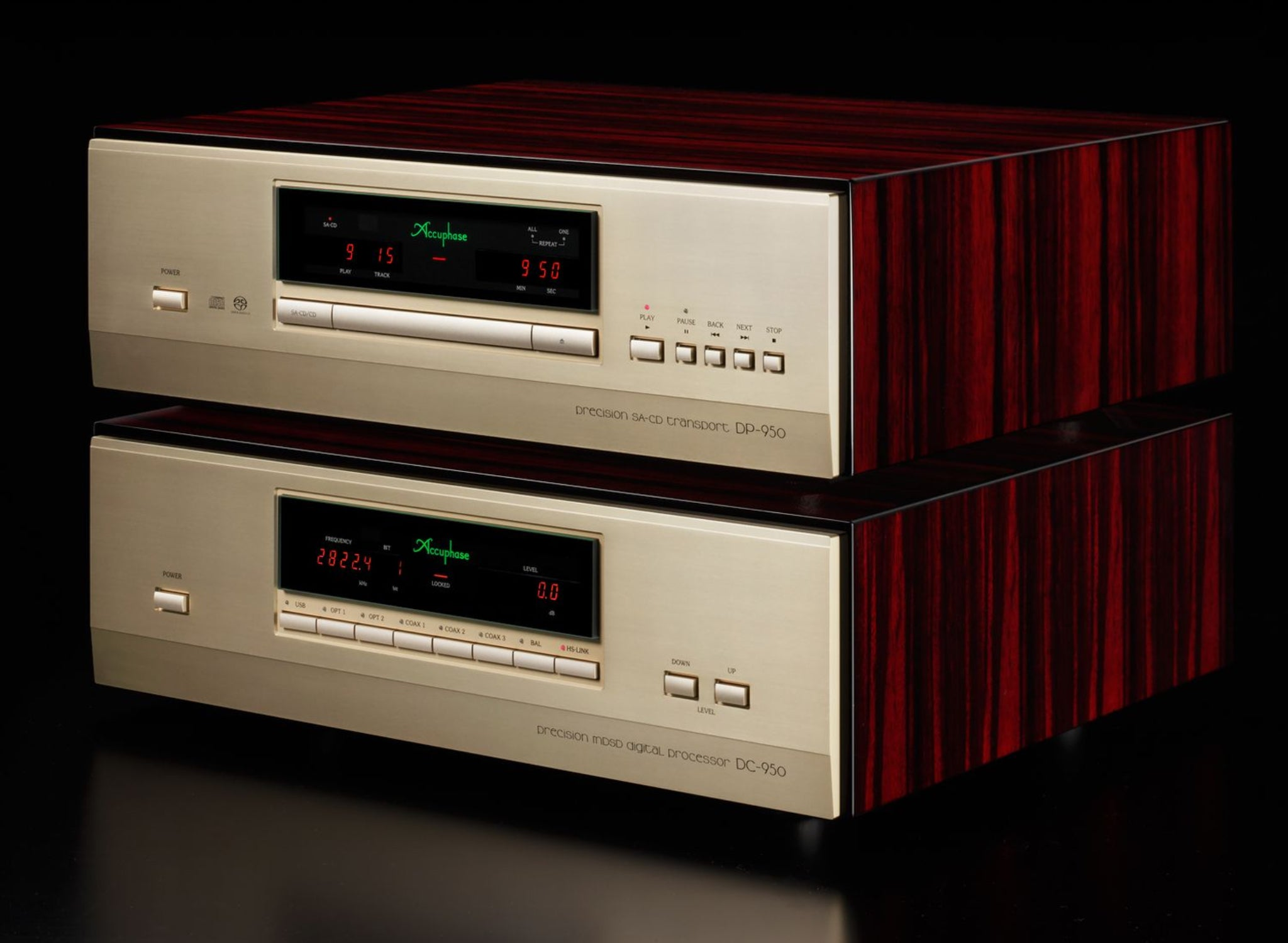 Accuphase Precision SACD Transport and MDSD Processor DP-950 DC-950