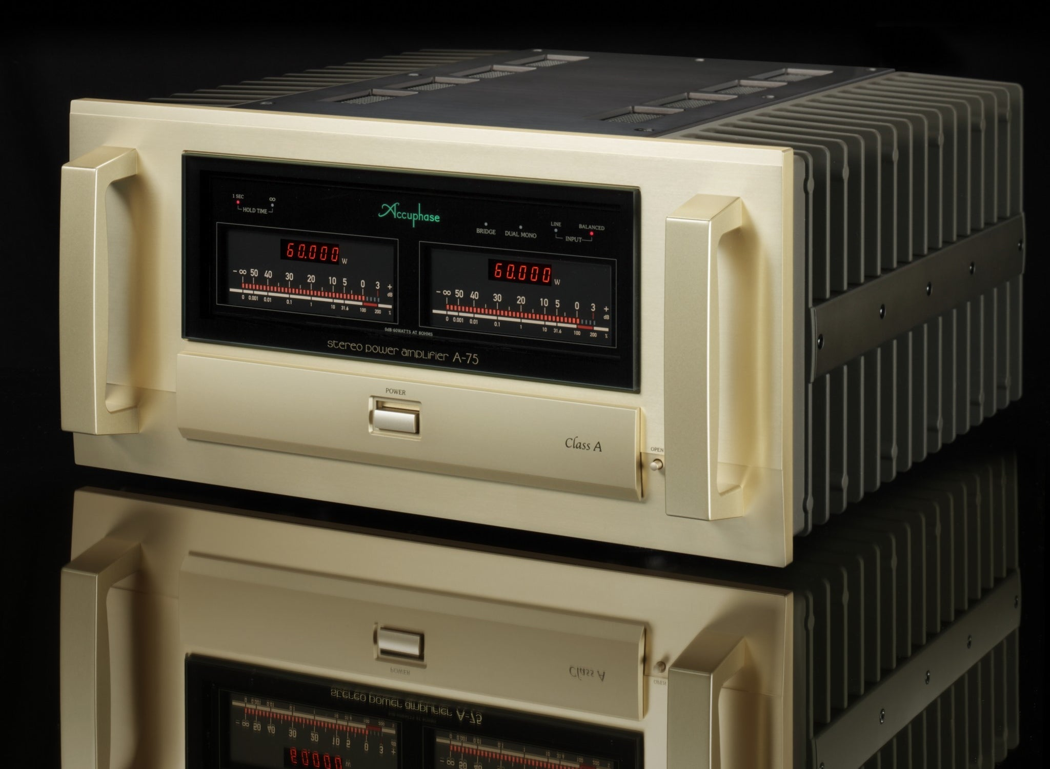 Accuphase Class A Stereo Power Amp A-75