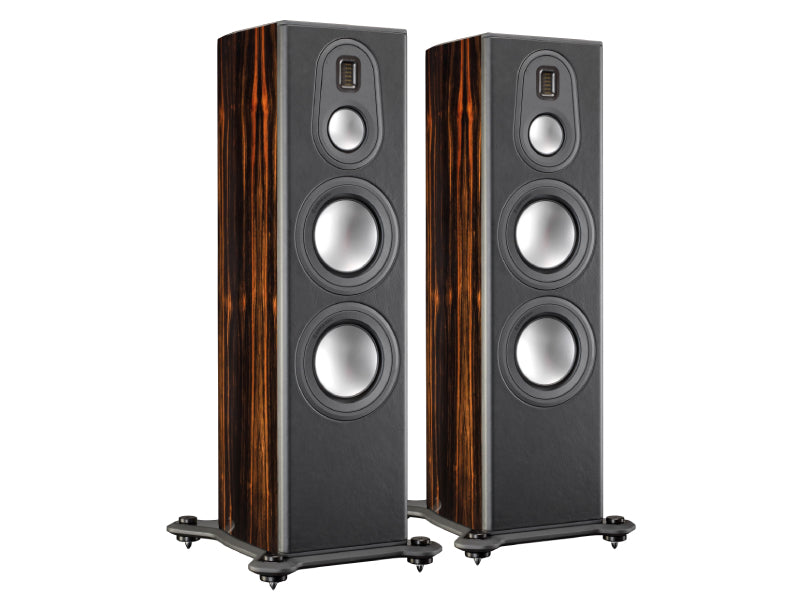 Monitor Audio Platinum PL300 II Floorstanding Speakers - Eboney