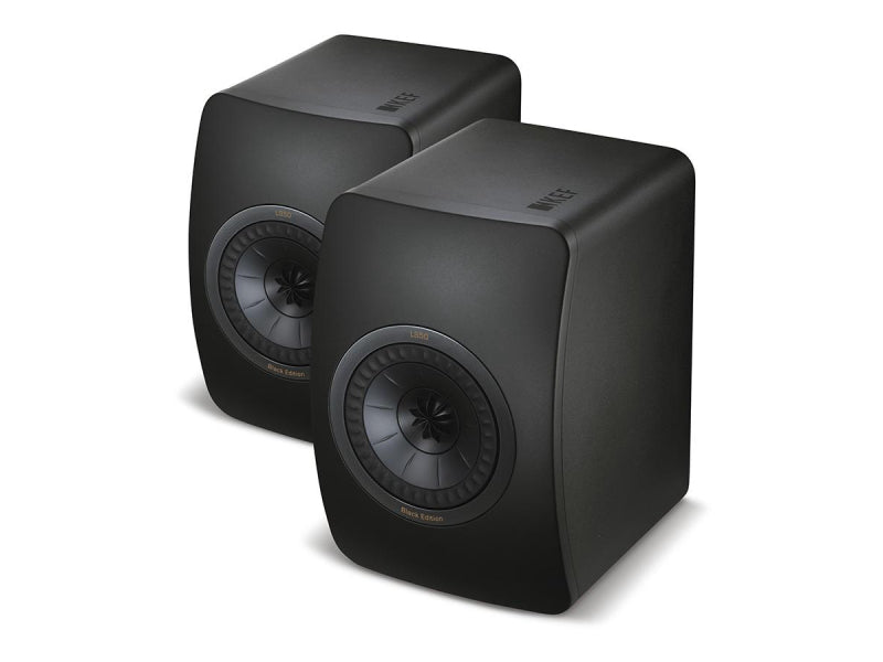 Kef LS50 Black Edition Passive Studio Monitor Speakers