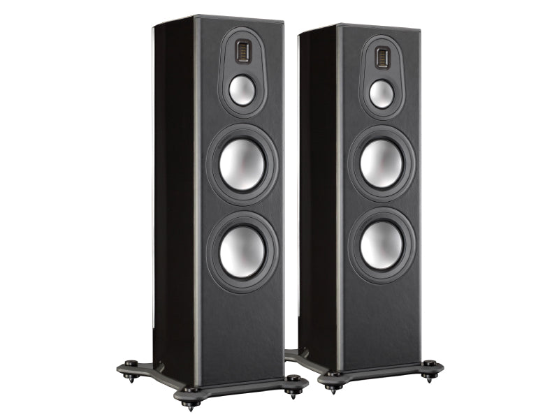 Monitor Audio Platinum PL300 II Floorstanding Speakers - Piano Gloss Black