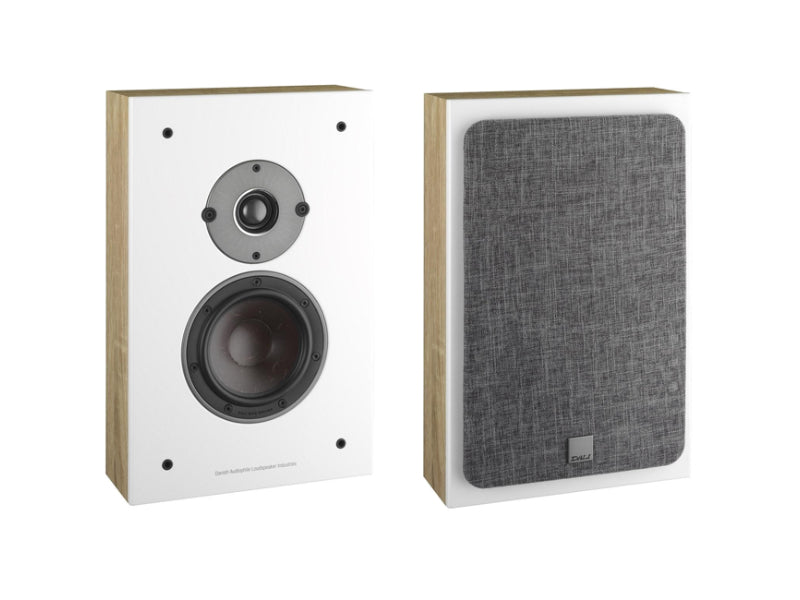Dali Oberon On-Wall Speakers - Light Oak