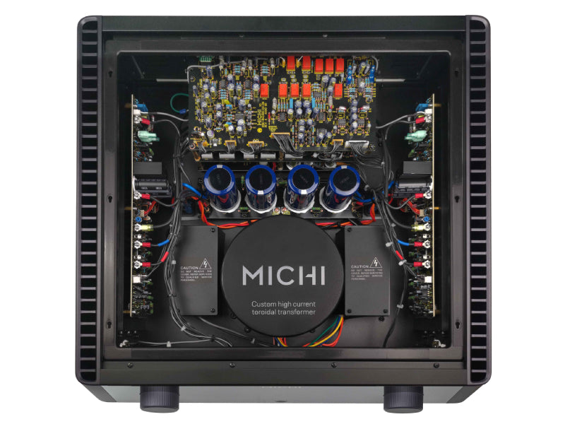 Rotel Michi X3 Integrated Amplifier Internal