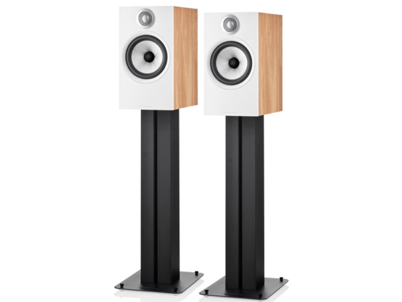 B&W 606 S2 Anniversary Edition Oak on Stands