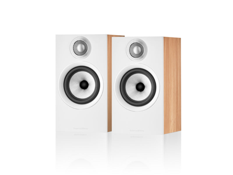 B&W 607 S2 Anniversary Edition Oak Speakers