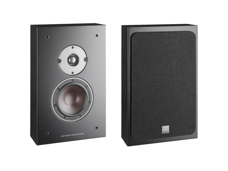 Dali Oberon On-Wall Speakers - Black Ash