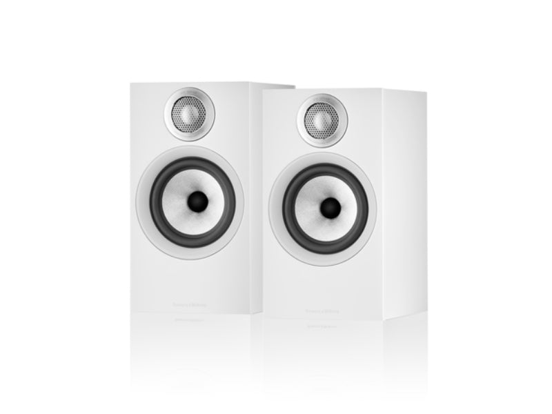 B&W 607 S2 Anniversary Edition White Speakers