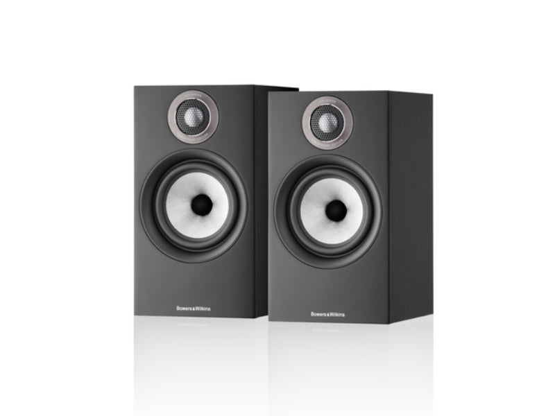 B&W 607 S2 Anniversary Edition Black Speakers