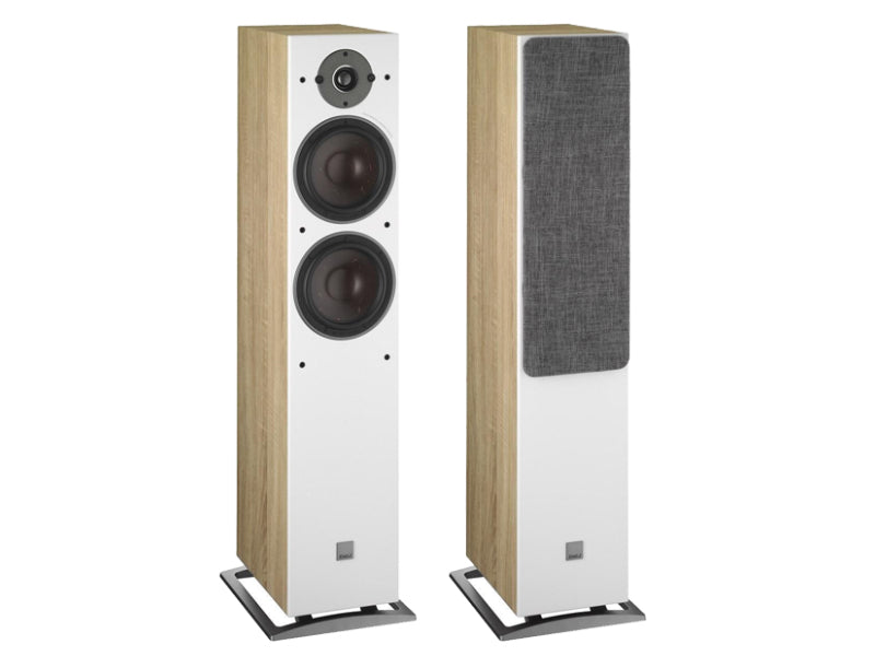 Dali Oberon 7 Floorstanding Speakers - Light Oak