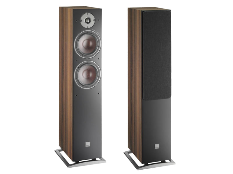 Dali Oberon 7 Floorstanding Speakers - Dark Walnut