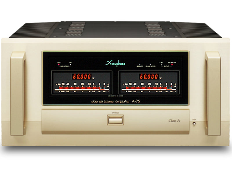 Accuphase A-75 Class A Stereo Power Amplifier