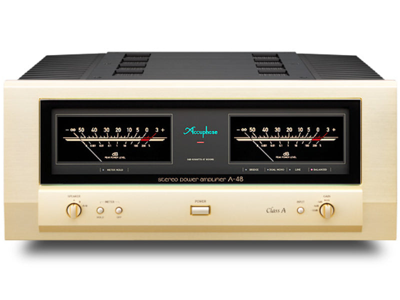 Accuphase A-48 Class A Stereo Power Amplifier