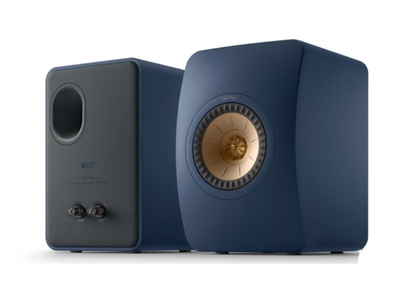 Kef LS50 Meta Speakers Royal Blue
