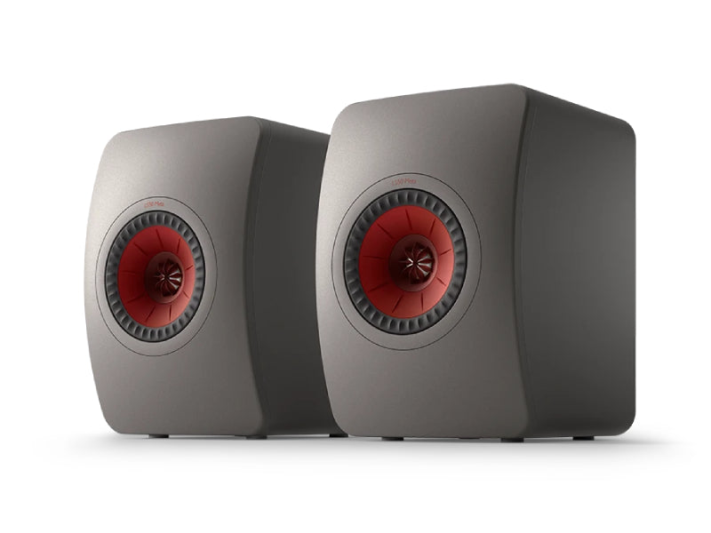Kef LS50 Meta Speakers Titanium Grey