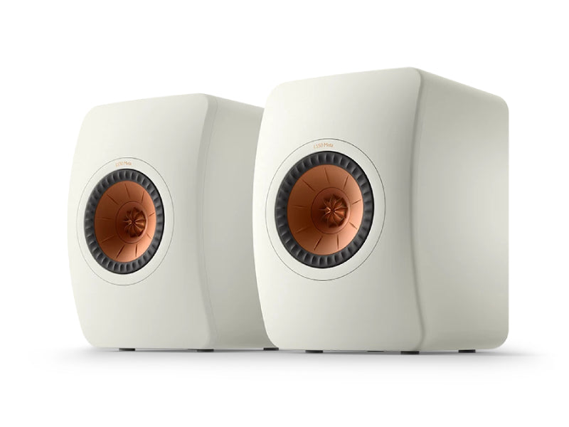 Kef LS50 Meta Speakers Mineral White