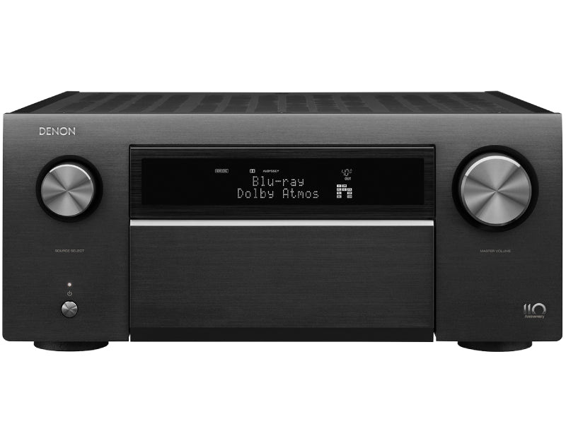 Denon AVC-A110 Limited Edition AV Amplifier 13.2Ch 8K Silver Graphite