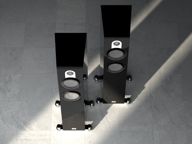 Marten Parker Trio Loudspeakers Piano Black