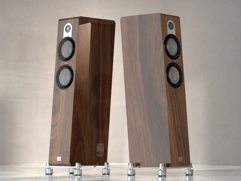Marten Parker Trio Diamond Edition LoudspeakersPiano Walnut