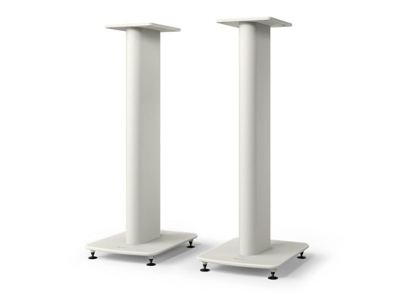 Kef LS50 Meta S2 Floor Stands White