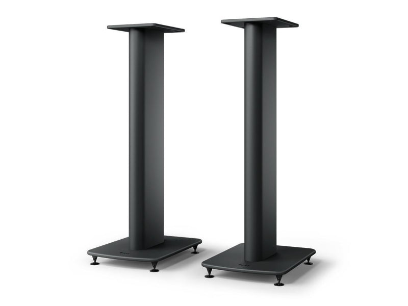 Kef LS50 Meta S2 Floor Stands Black