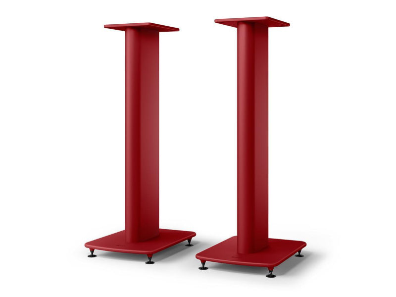 Kef S2 Floor Stand Crimson Red (LS50 Meta & LS50 Wireless II Speaker Stand)